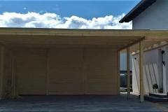 Carport aus Holz I