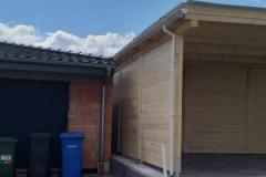Carport aus Holz III