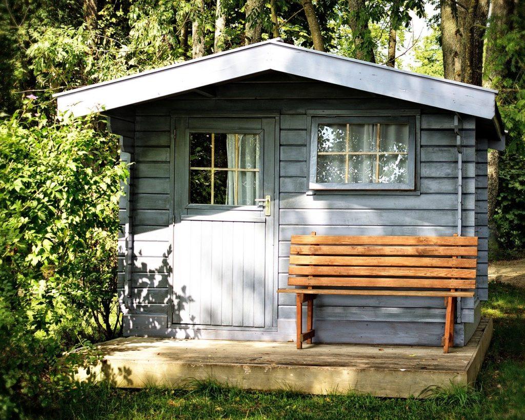 Gartenhaus klein