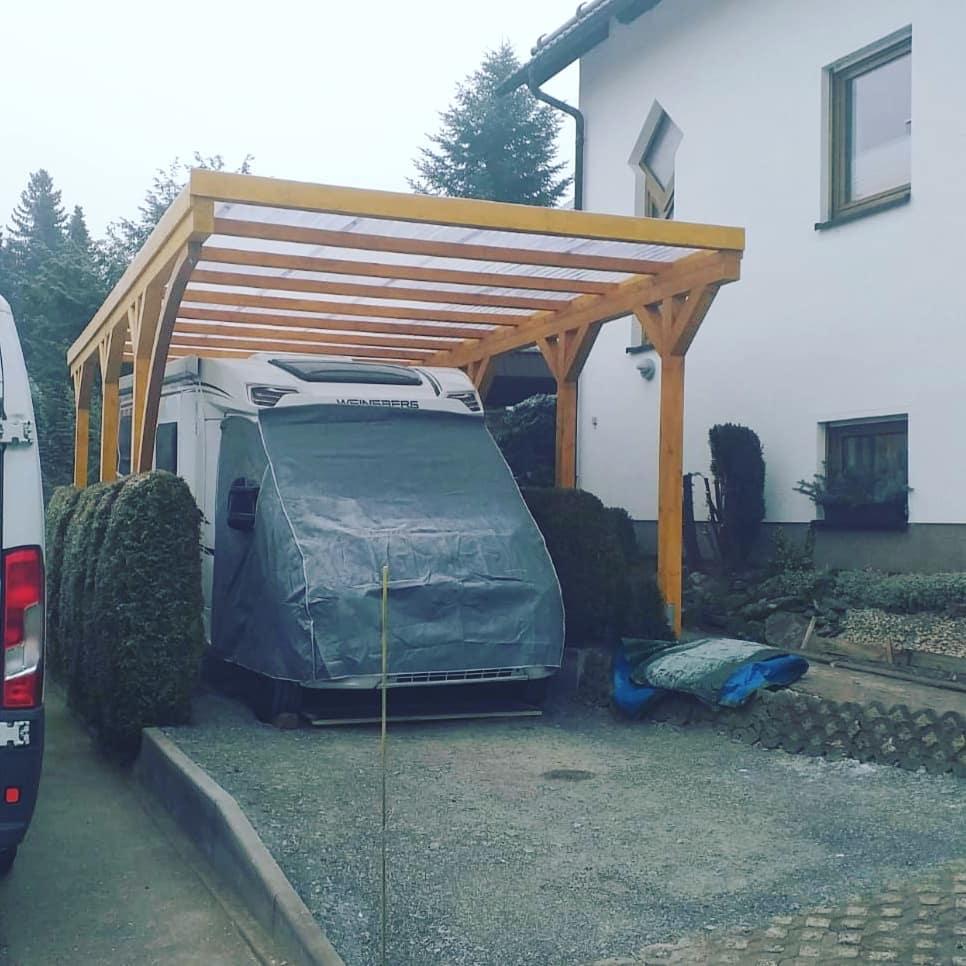 Carport Wohnwagen